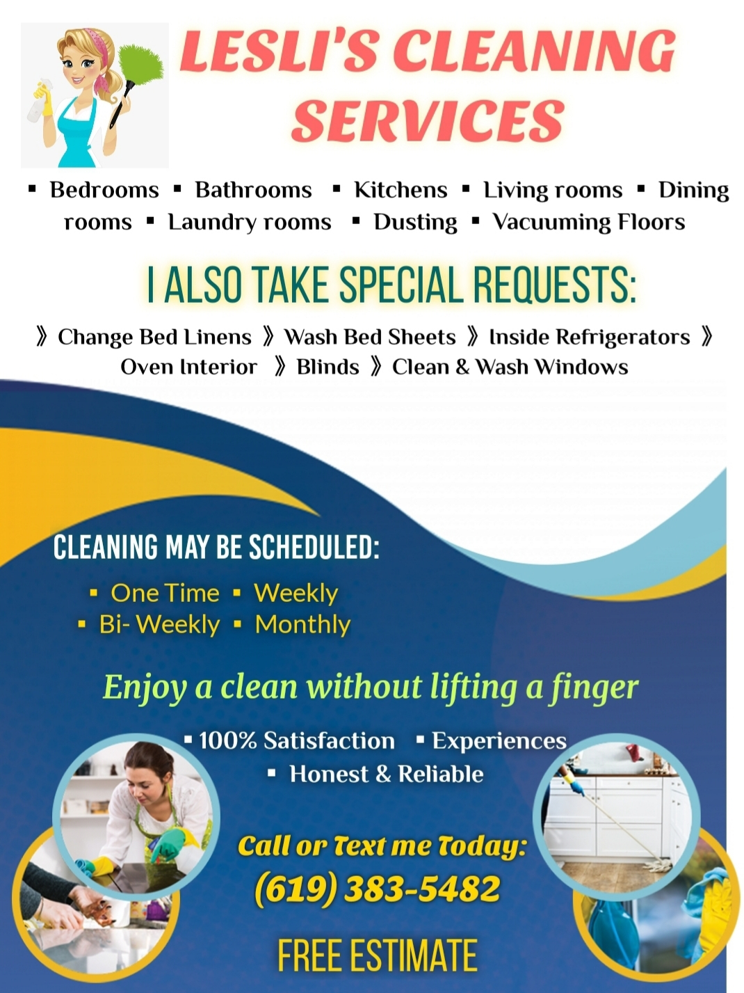 Lesli's Cleaning Services